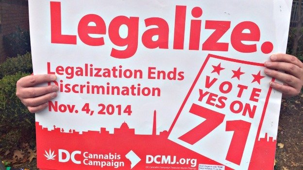On Nov. 4, D.C. residents approved Initiative 71, which legalizes the possession of up to two ounces of marijuana.
