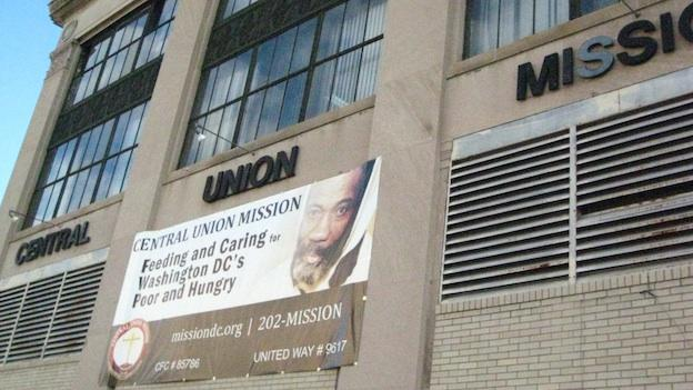 Central Union Mission moved to its present location at 1350 R Street NW after eminent domain forced the Mission to leave its original spot on C Street NW.
