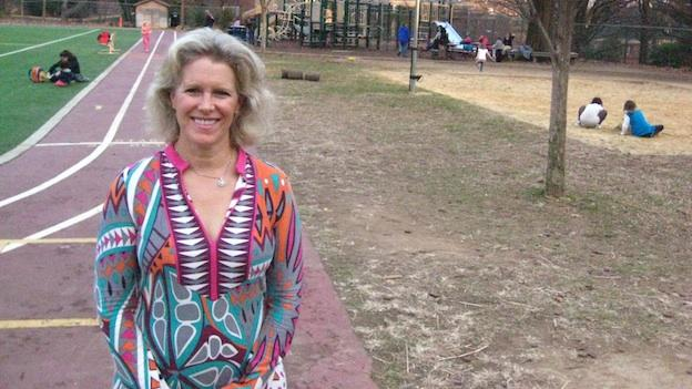Leslie Morgan Steiner, parenting author/blogger and native Washingtonian, says parenting has changed drastically since the days she scampered around the playground of Horace Mann Elementary School in Northwest D.C.