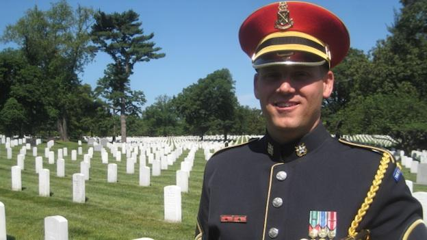 "While Staff Sergeant Andrew Allphin plays the trumpet for the US Army Band, named ""Pershings Own"" and teaches music, he sees his most important duty as that of a bugler at Arlington National Cemetery."