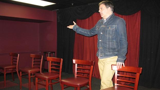 Comedic actor Shawn Westfall has been teaching improv comedy at the DC Improv since 2003.