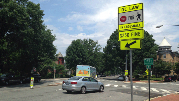 The intersection of 7th Street, D Street, and Maryland Avenue NE is too dangerous, Capitol Hill residents say.