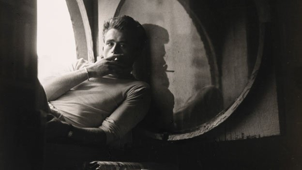 Few people are as classically cool as James Dean, shown here in a photograph by Roy Schat.