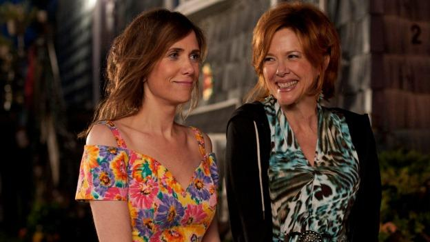 Kristen Wiig and Annette Bening star as a quirky mother-daughter duo in Girl Most Likely, now playing in theaters.