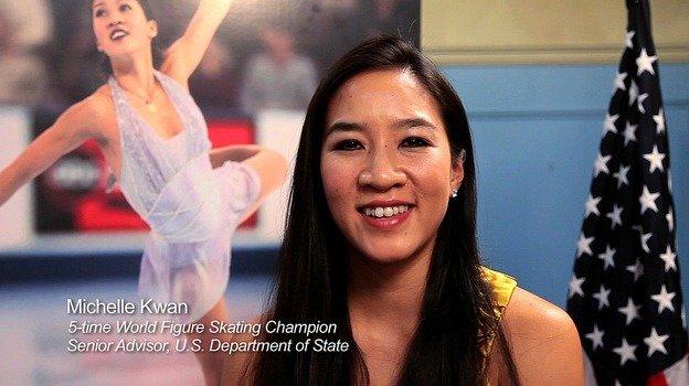 Once an Olympian, now a diplomat.