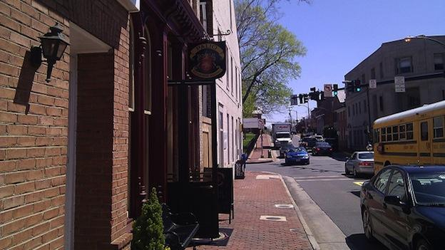 West Market Street in Leesburg, Va.