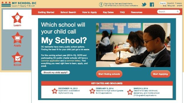 Over 17,000 students used a new common lottery for public and charter school applications.