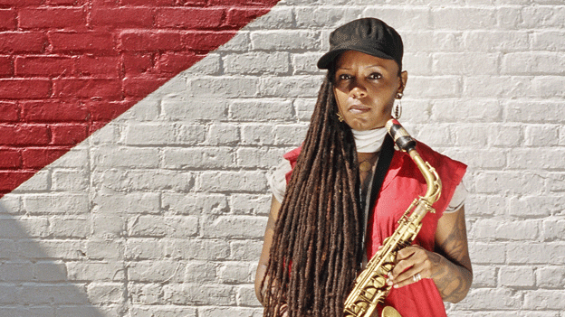 Matana Roberts performs this Saturday with the Tarus Mateen Quartet as part of the DC Jazz Festival.