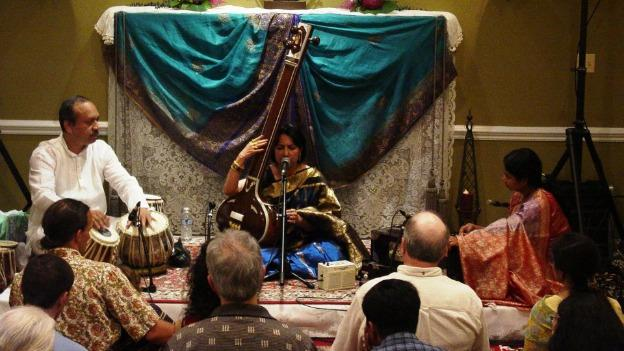 This Saturday will mark the Chakravertys' seventh Memorial Day Weekend Indian classical music home concert.