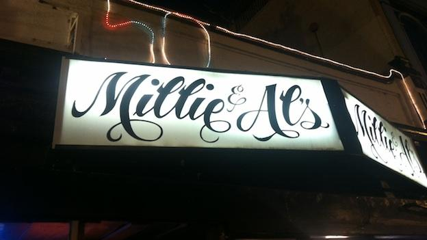 Millie & Al's on 18th Street in Adams Morgan. Founded in 1963, this dive is celebrating 50 years in business.
