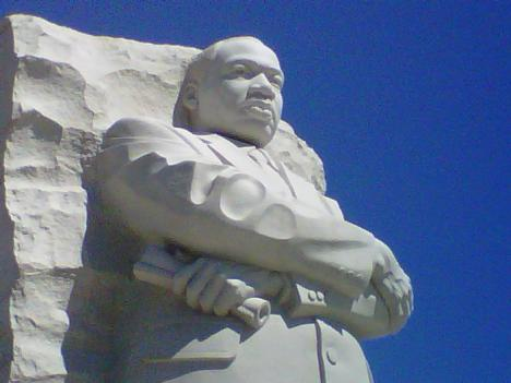 Dr. King's life and death will be remembered Wednesday night in the shadow of his new memorial.