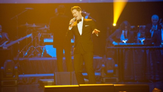 Matthew Morrison sings with the National Symphony Orchestra Pops tonight and tomorrow at 8 p.m. at The Kennedy Center.