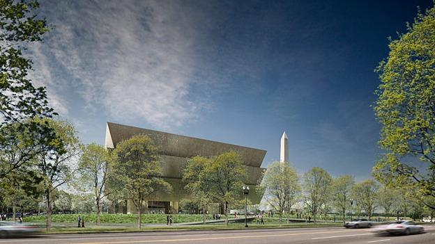The National Museum of African American History and Culture on the National Mall will be completed in late 2015.