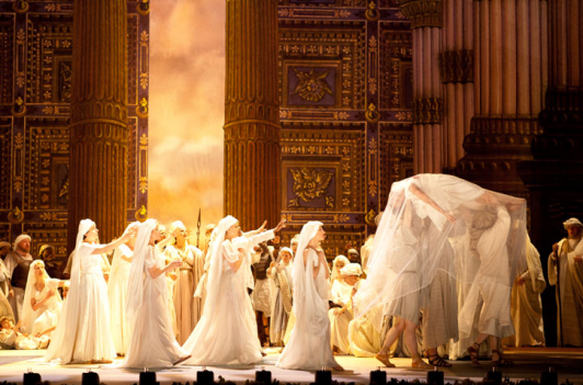 The Washington National Opera takes on Verdi's biblical Nabucco.
