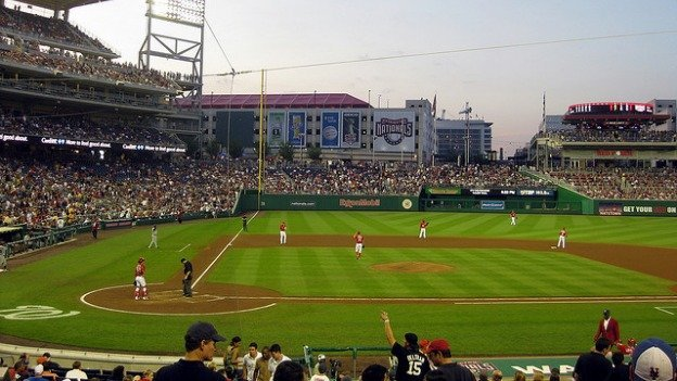 It's a new season at Nationals Park, and the team is touting new food and retail options.