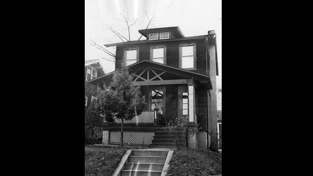 Image of Woodridge house from the 1960s.