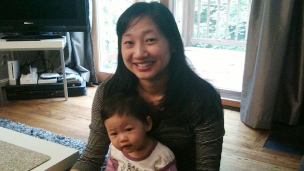 Chris Hwang struggled with post-partum depression after the birth of her daughter, Chloe, but found support from a psychiatrist and PACE, a local support group for new moms.