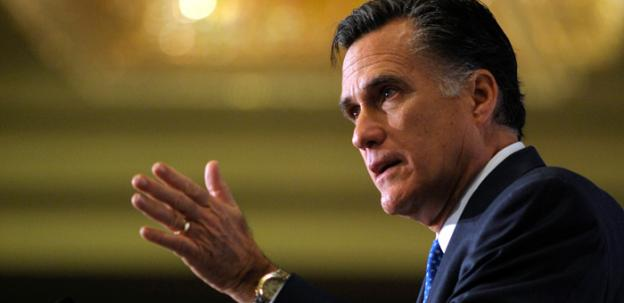 Former Massachusetts Governor Mitt Romney has reportedly won the GOP primary in Virginia, despite low turnout.