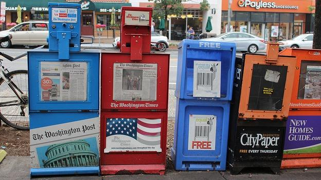 Newspaper boxes are plentiful—and unregulated—in D.C.
