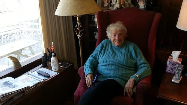 Judy Randolph at her home in Occoquan, Va.