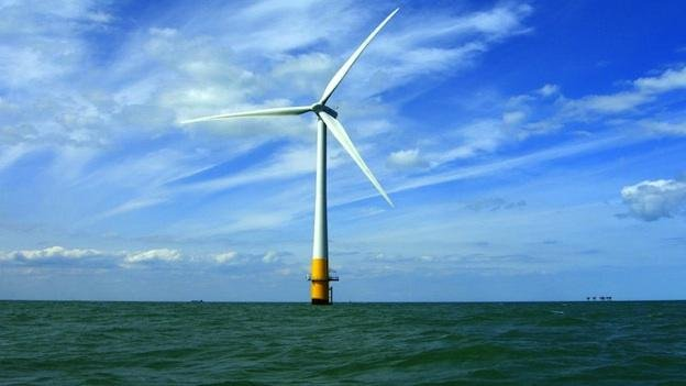 Offshore wind power is still years away, says Dominion, but now it's partially backed by federal funding.