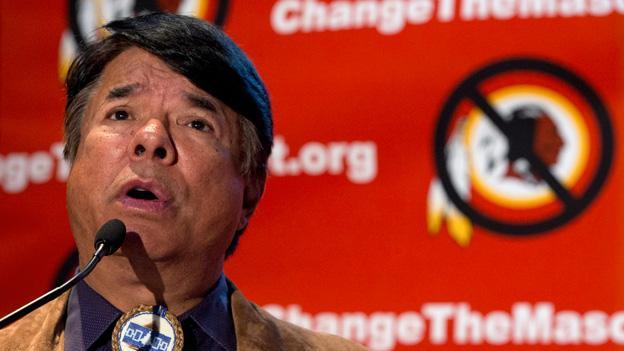 Ray Halbritter, National Representative of the Oneida Indian Nation, has demanded that the Washington Redskins drop the team name.