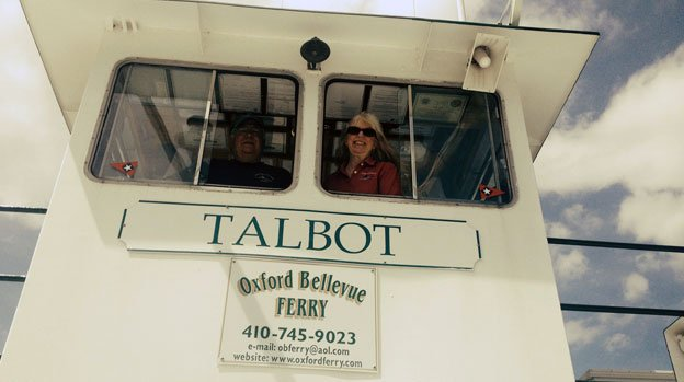 "Tom and Judy Bixler describe owning the Oxford-Bellevue Ferry as their own personal ""fairy tale."""
