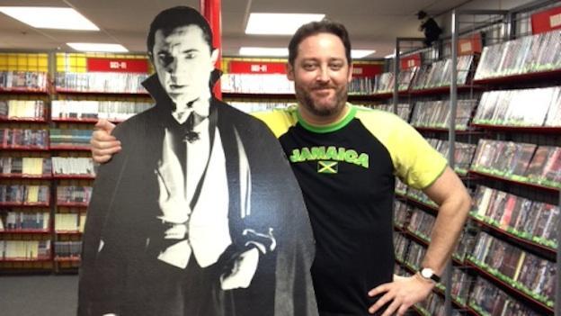Potomac Video manager and buyer Jon Francke has spent almost 20 years in the home video rental business. He fell in love with movies as a kid watching classic horror films like Dracula, Frankenstein and The Wolf Man.