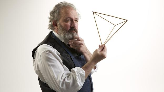 Rick Foucheux portrays Alexander Graham Bell in Jim Lehrer's world-premiere play, BELL.