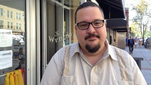Poet Dan Vera has spent the past 12 years as a writer in the D.C. area.