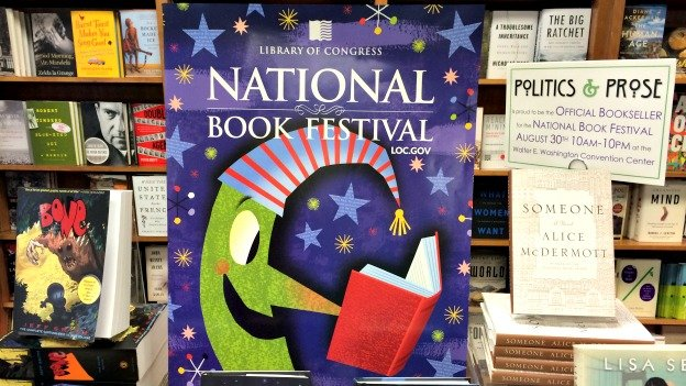 Politics & Prose will be the official bookseller at this weekend's National Book Festival.