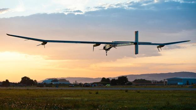 The Solar Impulse is on a cross-country trip, and will head off to New York in July.