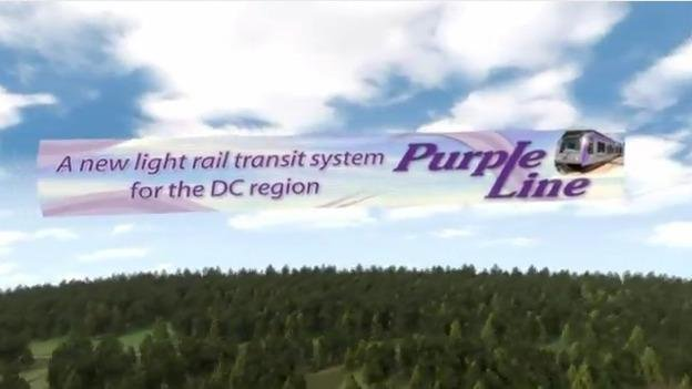 The planned Purple Line would run 16 miles from Bethesda to New Carollton, and would cost $2.2 billion to build.