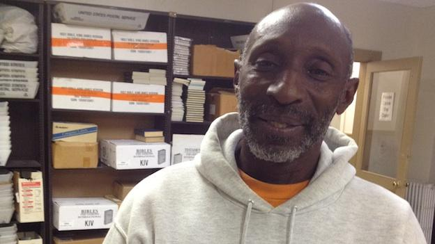 Baltimore Rescue Mission is one of several clinics that Raymond Banks has been to over the last few years.