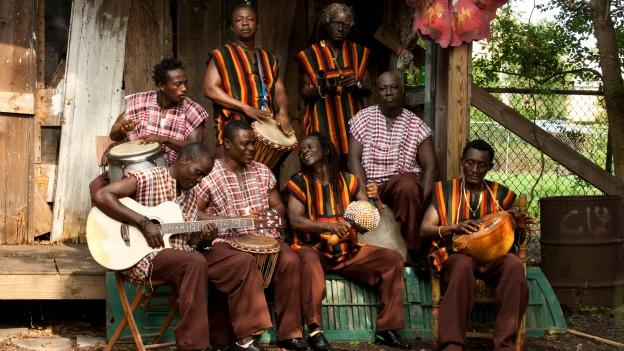 Sierra Leone's Refugee All Stars first came together in West African refugee camps, but have since toured the globe and taken a stand against hunger.