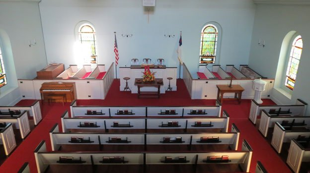The Old Rehoboth congregation was formed in 1683, more than 30 years before the present church was built.