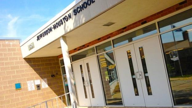 Jefferson-Houston School in Alexandria is the only school in Northern Virginia that would be taken over as part of a new state law.