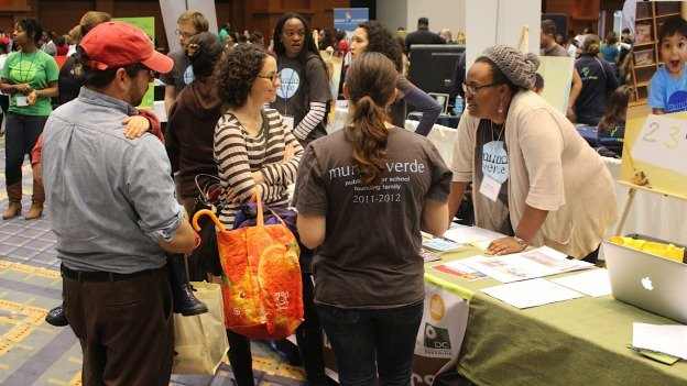 At the D.C. Education Festival, parents shopped for schools from over 100 traditional and public charter school options.