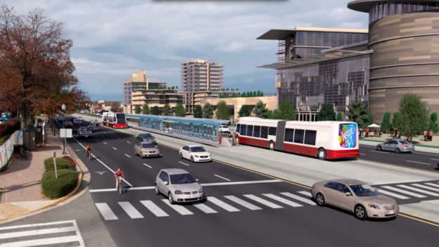 The Envision Route 7 project images a future with a reinvigorated multimodel transportation corridor.