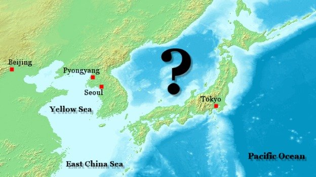 Sea of Japan, or East Sea? Virginia legislators may have to decide.