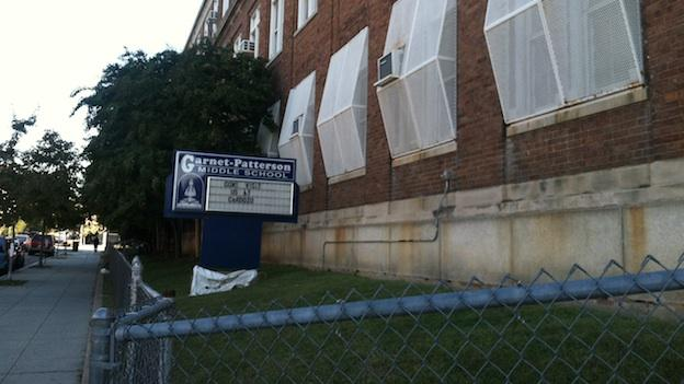 Shaw Middle School at Garnett-Patterson closed early 2013 due to low enrollment.