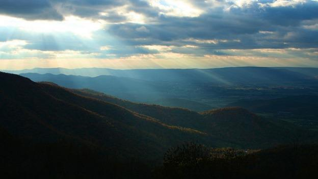 Controlled burns are being used in the Shenandoah National Park to prevent large uncontrolled fires and to stimulate plant growth.