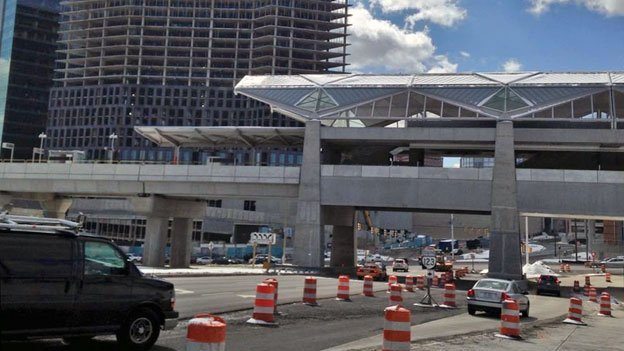 The Silver Line is set to run through Tysons Corner.