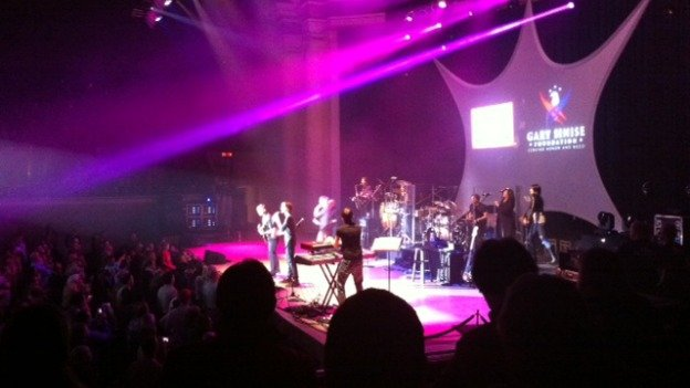 Sinise and his band performed at DAR Constitution Hall.