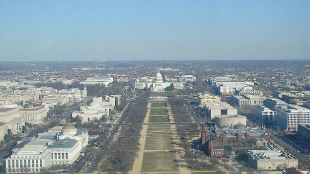 Building heights in D.C. are limited by the width of the street in front of them, with a top height of 160 feet on Pennsylvania Avenue.