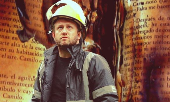 Fahrenheit 451 centers on a fireman named Guy Montag who has an unusual job. He doesn't extinguish flames, rather, he starts them--using books as fuel.