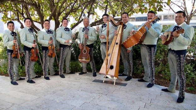 Mariachi band Los Camperos de Nati Cano is coming to GMU's Center for the Arts this weekend.