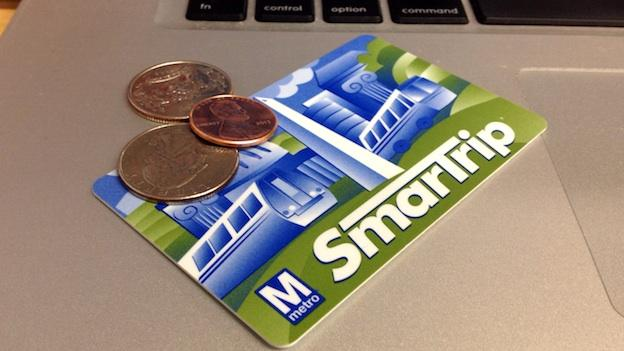 Metro is dropping the price of its SmarTrip card from $5 to $2.