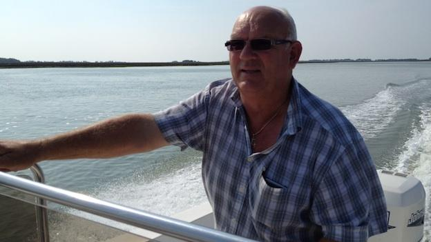 Capt. Otis Tyler's family has run the mail boat for Smith Island for 100 years.