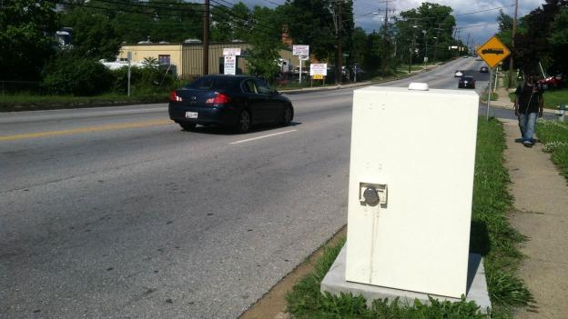 Prince George's County officials have asked the town of Fairmount Heights to remove two speed cameras it installed without the proper permission.